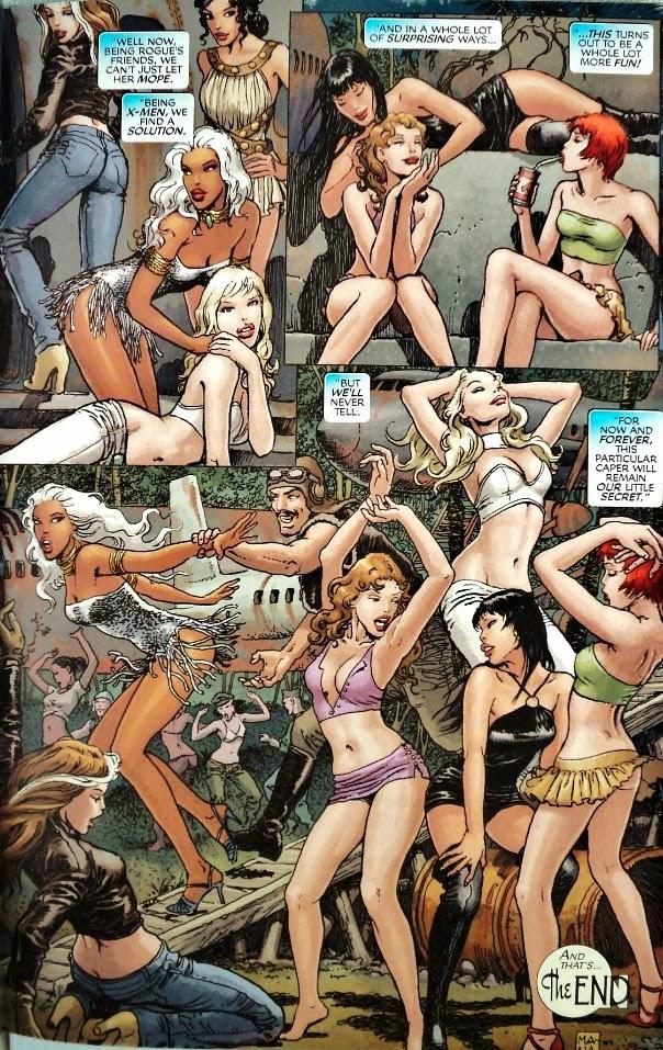 X-Women - Claremont Milo Manara