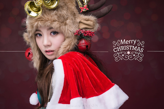 1 Lee Chae Eun - merry christmas - very cute asian girl-girlcute4u.blogspot.com