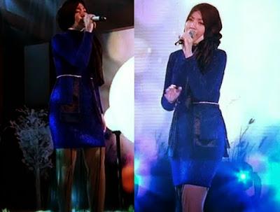 Gambar  Shila Amzah pakai baju blous dan legging di China, hiburan, info, penyanyi Shila Amzah, pakaian kontroversi shila amzah