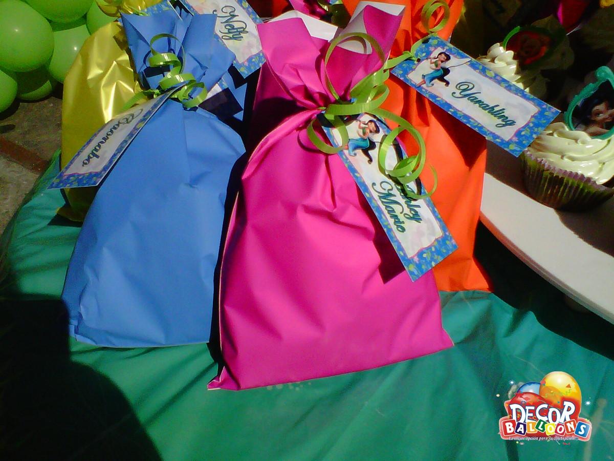 Bolsas para cumpleaños de Tinkerbell - Imagui