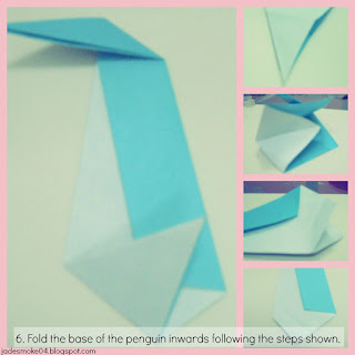 DIY origami penguin step 6 (jadesmoke04.blogspot.com)