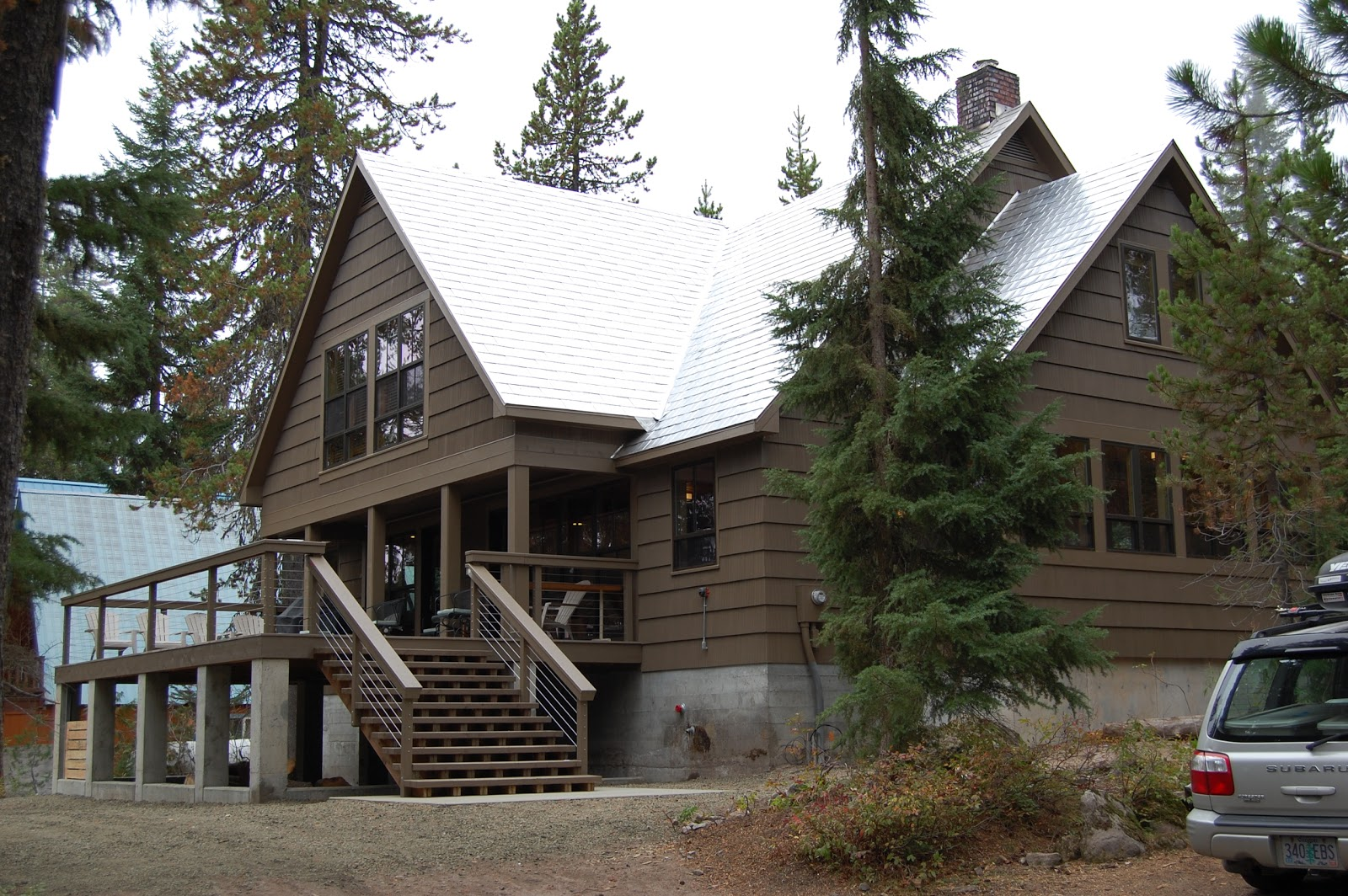 Ski house of the day reed college ski cabin for Ski cottage