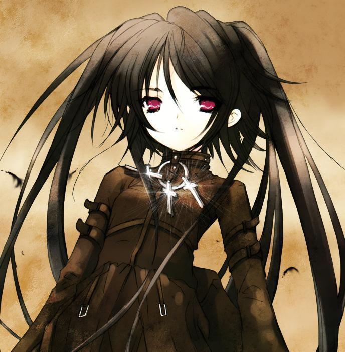 gothic lolita anime girl
