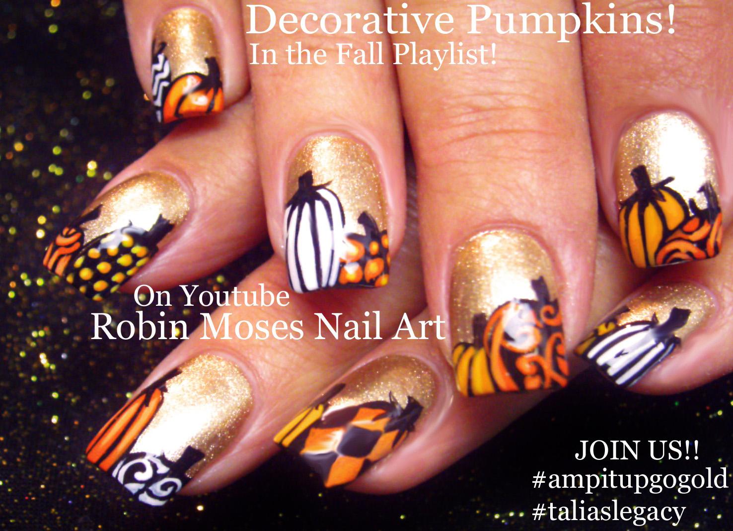 Nail Art Ideas » Thanksgiving Toe Nail Art - Pictures of Nail Art ...