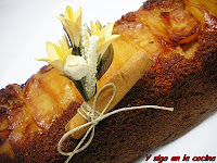 CAKE DE MANZANAS CARAMELIZADAS
