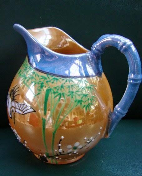 ancien vase pot chinois en c ramique asiatique peint main ebay. Black Bedroom Furniture Sets. Home Design Ideas
