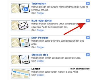 Cara Pasang Widget Kotak Berlangganan di Blog