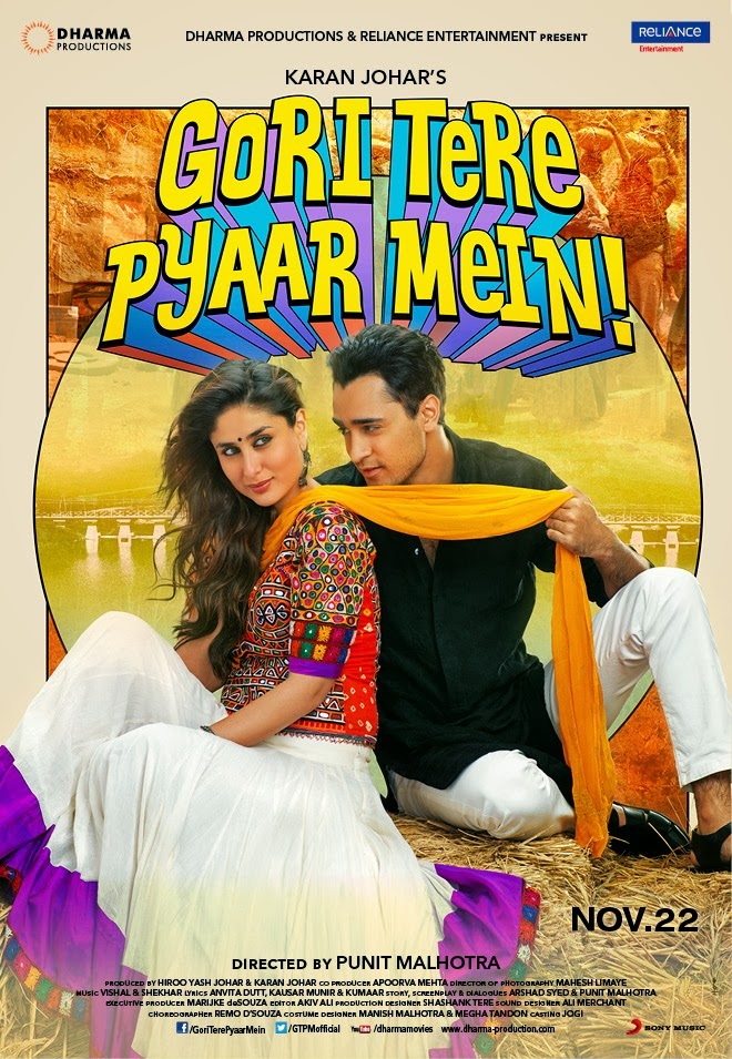 Watch Gori Tere Pyaar Mein (2013) Hindi DVDScr Full Movie Watch Online For Free Download