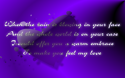Make You Feel My Love - Adele Song Lyric Quote in Text Image