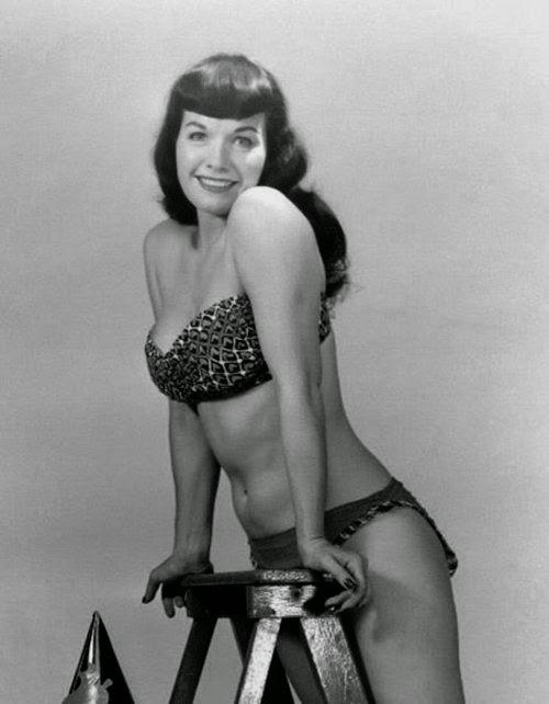 Bettie Page bikini