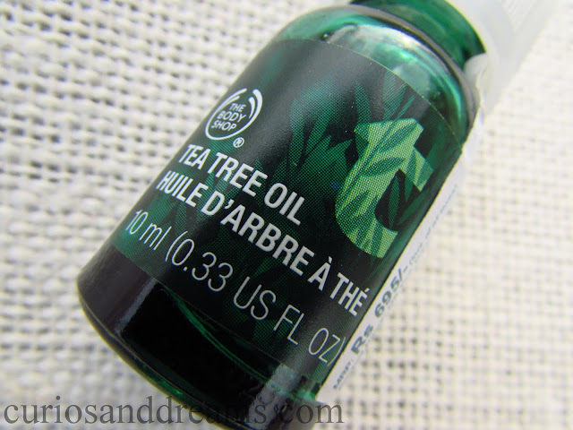 The Body Shop Tea Tree Oil review, Tea Tree Oil review