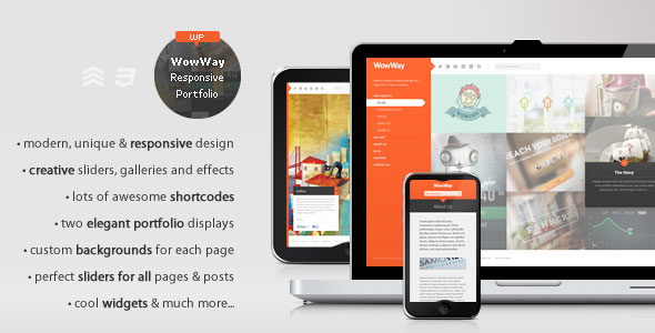 WowWay WordPress Theme Free Download by ThemeForest.