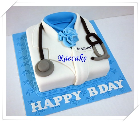 Doctor Suit Cake for Dr Wiwid Kue Ulang Tahun Birthday Cake