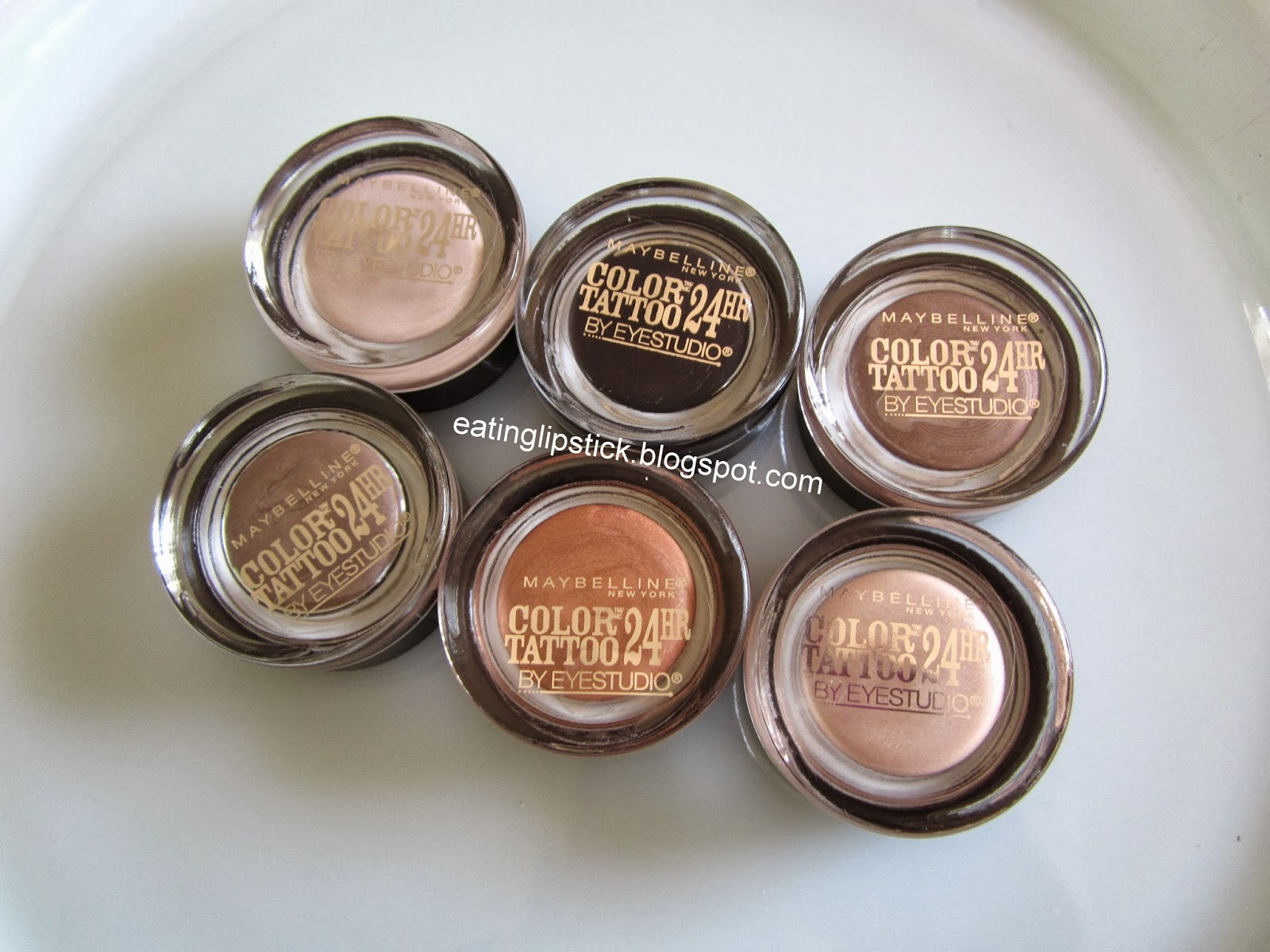 Eating lipstick maybelline dare to go nude color tattoos for Color tattoo maybelline