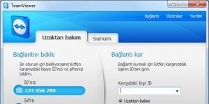 Team Viewer indir - Uzaktan Pc Kontrol