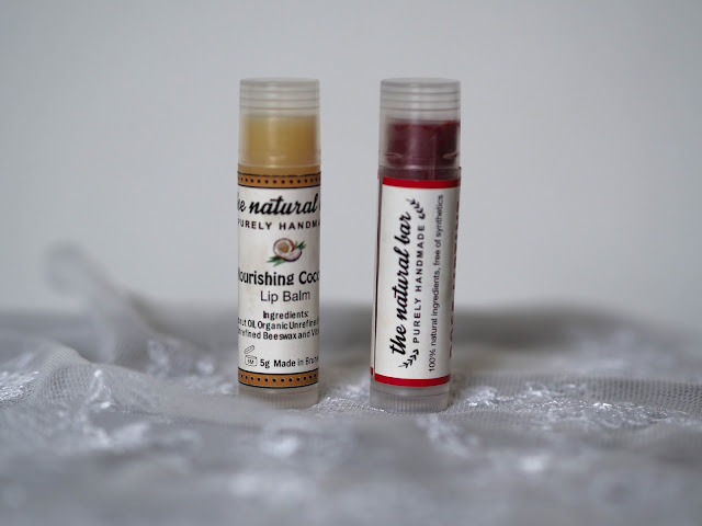 The Natural Bar Lip Balm - Nourishing Coconut  & Rose Lip Tint
