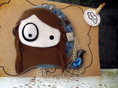 broche personalizado foltys vs pio pio: Jara (100% handmade with ♥)