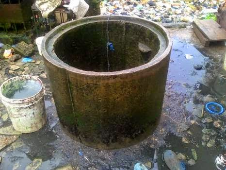 man fell inside well lagos
