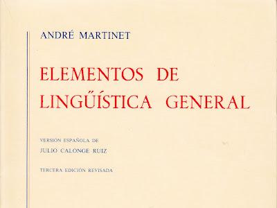 Elementos de Lingüística General