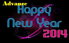 Happy New Year 2014 In Advance