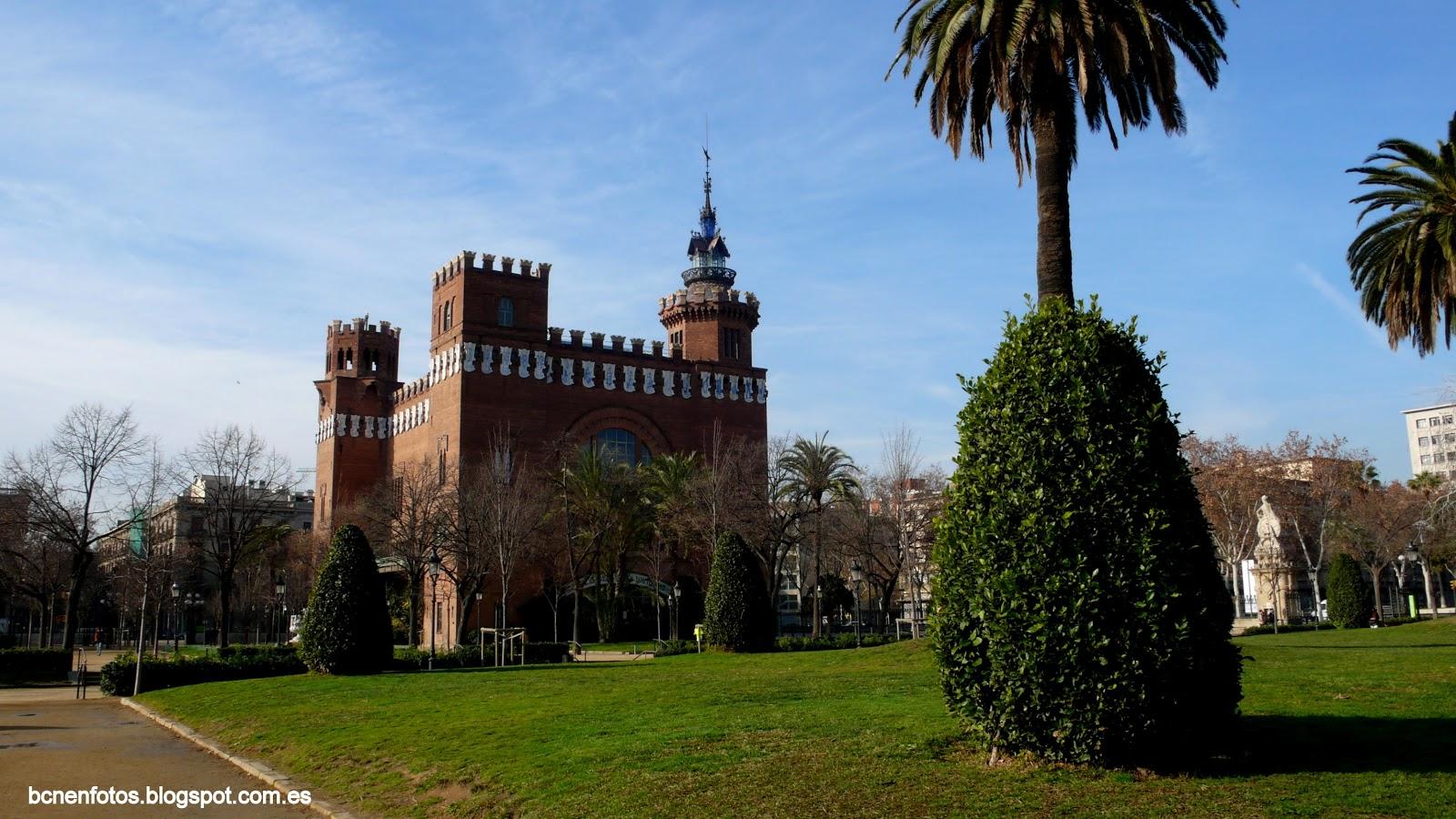 Mi barcelona el parque de la ciutadella i for Parques de barcelona