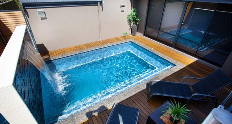As piscinas pequenas são ideal para quem tem um quintal pequeno, elas são indicadas também para aqueles não quem gastar muito na hora da compra da piscina.
