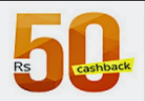 Paytm Coupon - Rs 50 Cashback on Rs 10 only