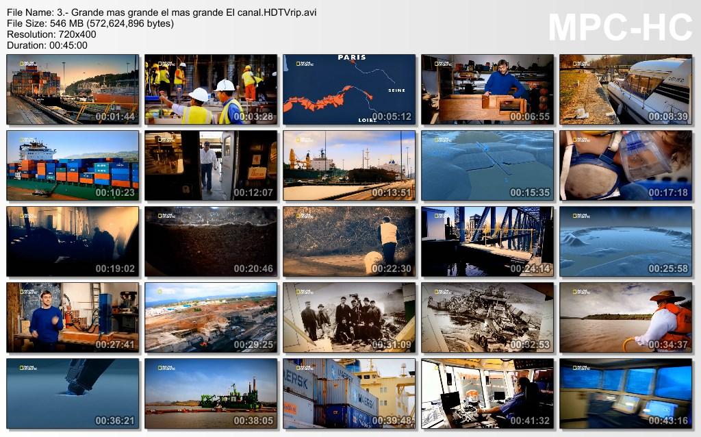 11GB|NATGEO HD|El Mas Grande|20-20|HDTV|720p|MEGA