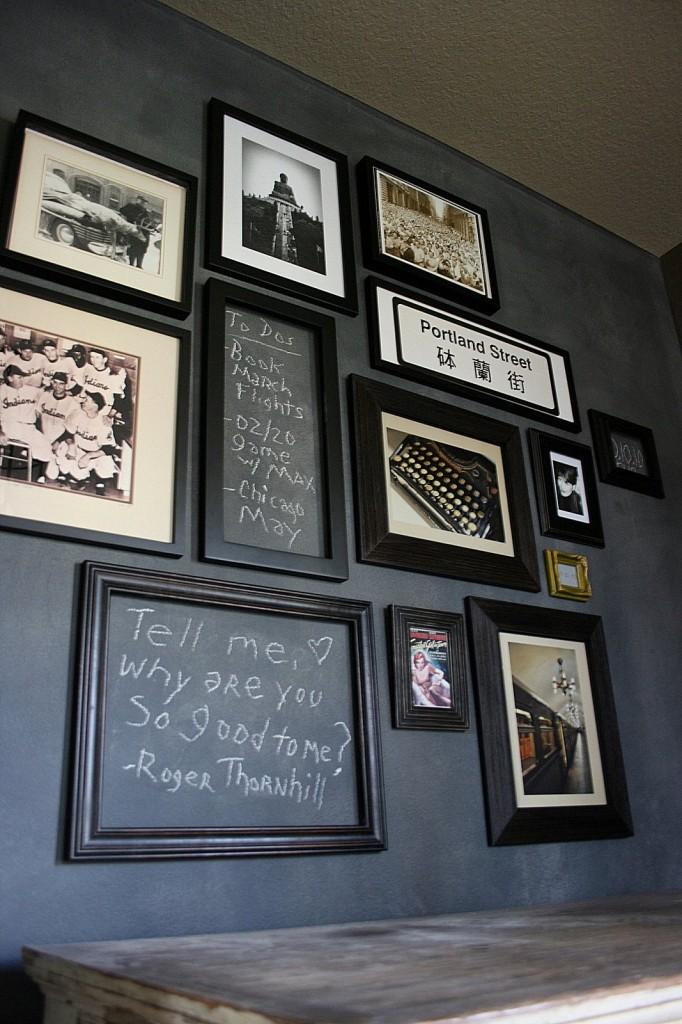 Design love gallery walls for Televiseur miroir