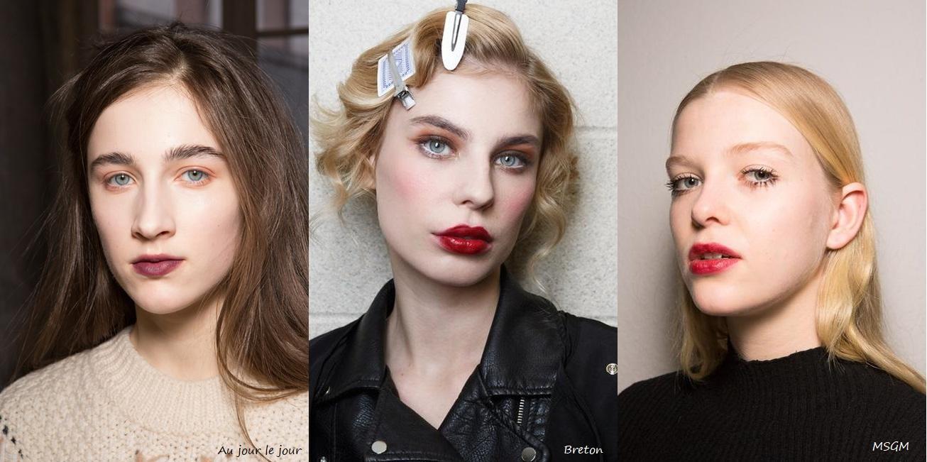 Beauty trend A/I 2017-18