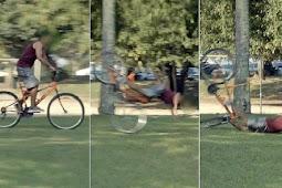 Nasib Nahas Pencuri Sepeda