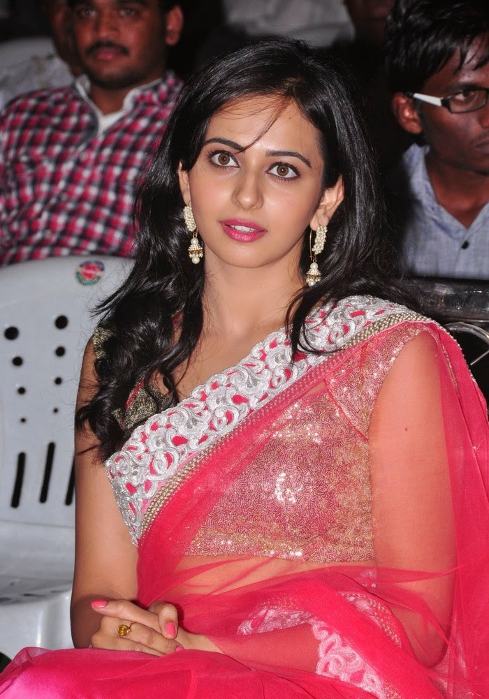 SEO TAGS : Rakul Preet Singh :Rakul Preet Singh hot facial white expressions hot make-up unseen rare hot saree slips pics hd
