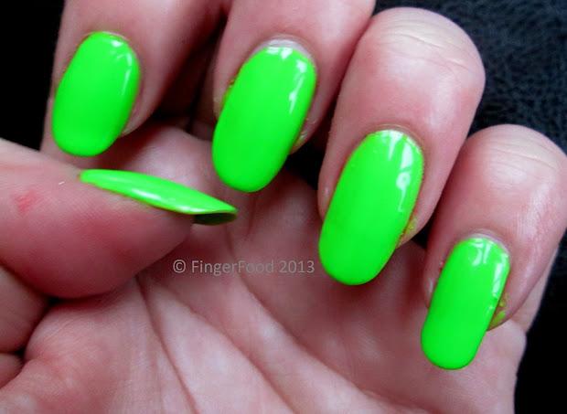 fingerfood la colors polish haul