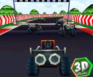 Hızlı Gokart 3D