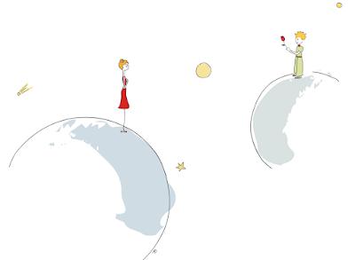 le petit Prince, rose du petit prince, une nouvelle terre, une nouvelle planète