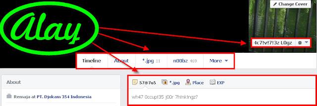 Cara Mengubah Bahasa di Facebook Menjadi Bahasa 4L4Y