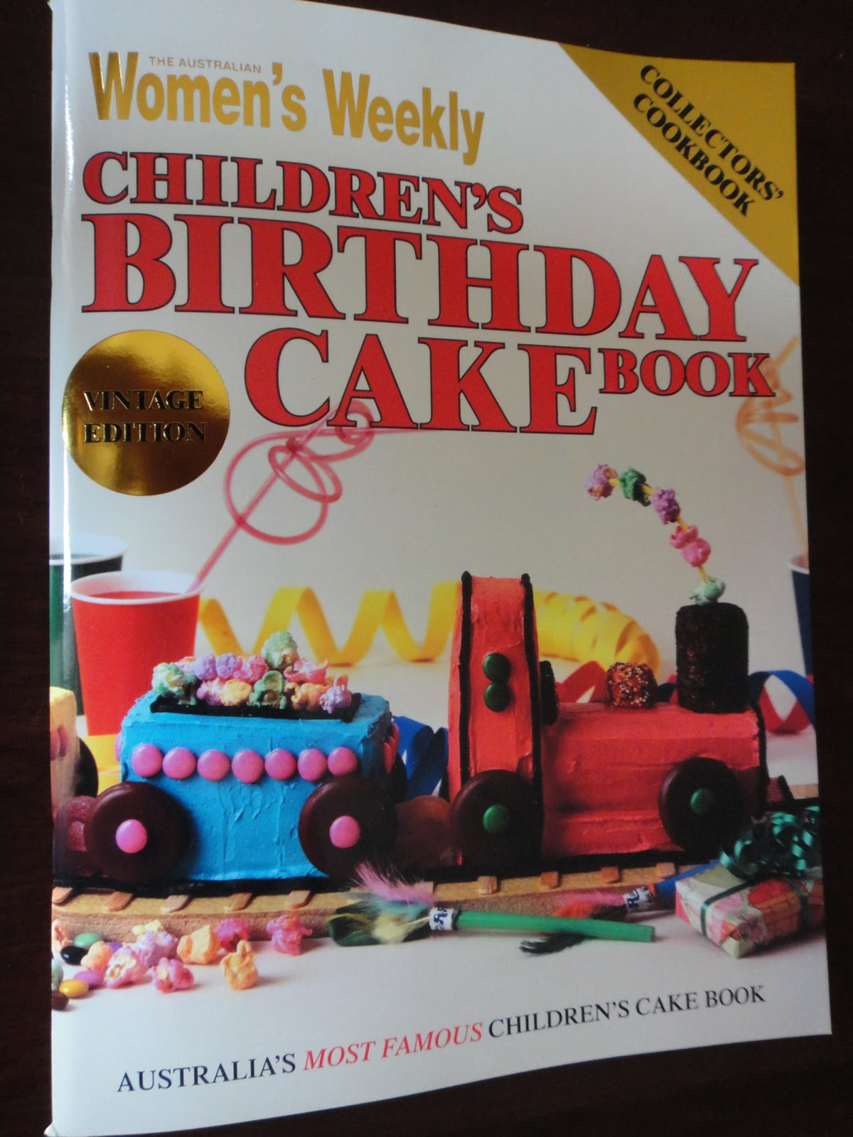Food For Thee Womans Weekly Childrens Birthday Cake Book