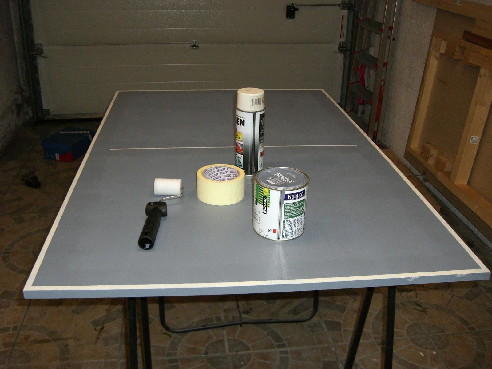 Nobru - Fabriquer une table de beer pong ...