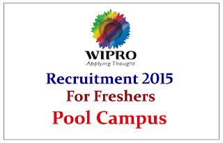 Wipro Technologies Limited Hiring B.E/B.Tech and MCA Students