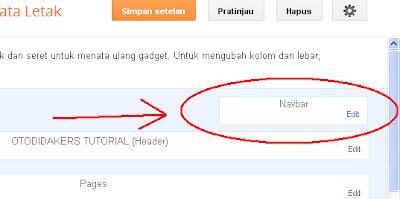 Edit Navbar