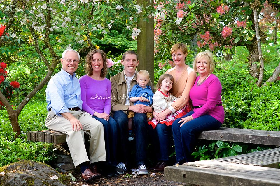 eugene oregon family photography hendricks park
