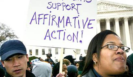 affirmative action do we still Affirmative action is like a lifeline for those students many black and latino students are still underrepresented at elite colleges and universities affirmative action admission policies are legal as long as race is one of many factors, and diversity among the student body that benefits students.