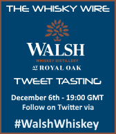 Walsh Whiskey Tweet Tasting II