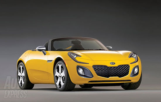 Kia 2 Seater Sports Car