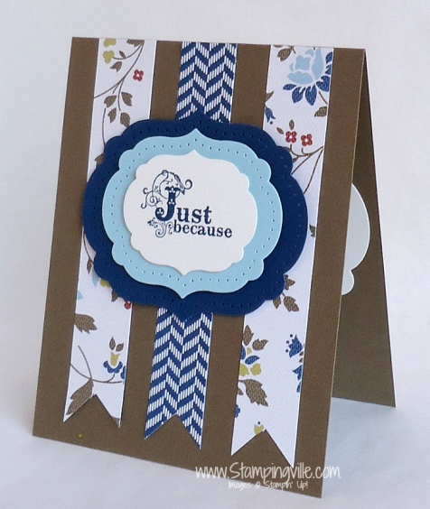 Stampin' Up! Vintage Verses Stamp Set Card Idea