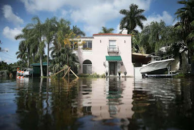 Sea Level rise to put dozens of cities in danger of flooding.