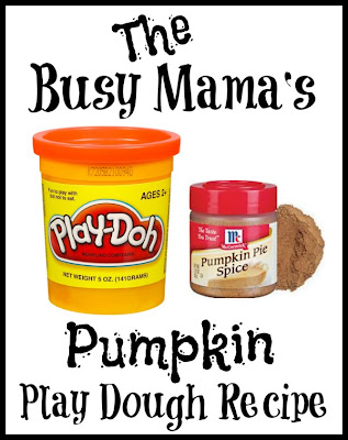 pumpkin play dough recipe- craft recipes