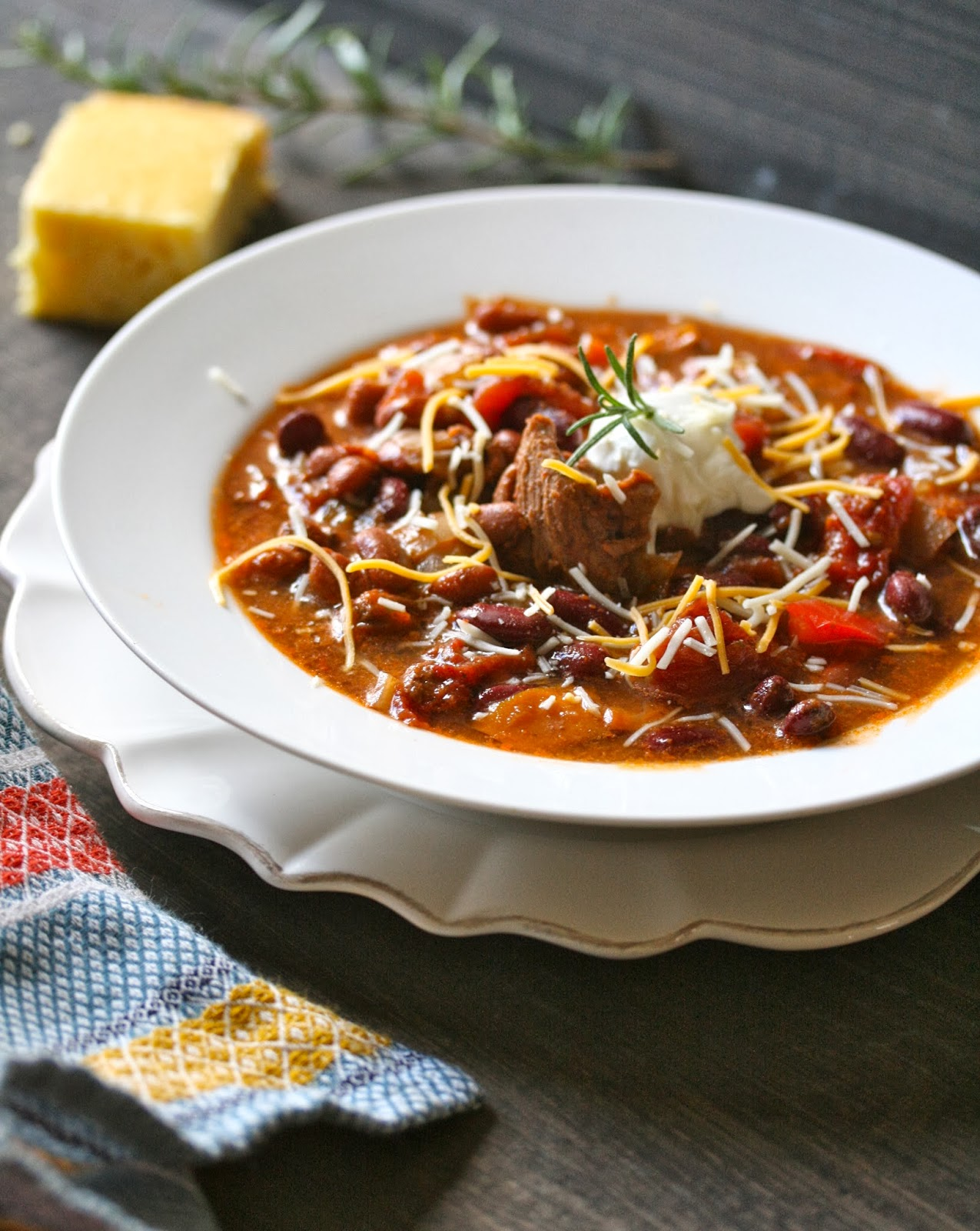 Angie Cooks In Portland: Game Day Chili