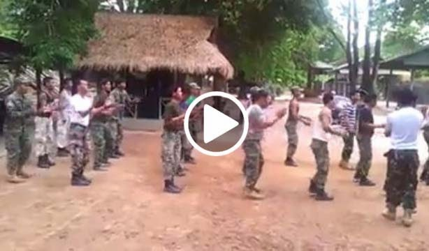 Khmer Army Dancing Video
