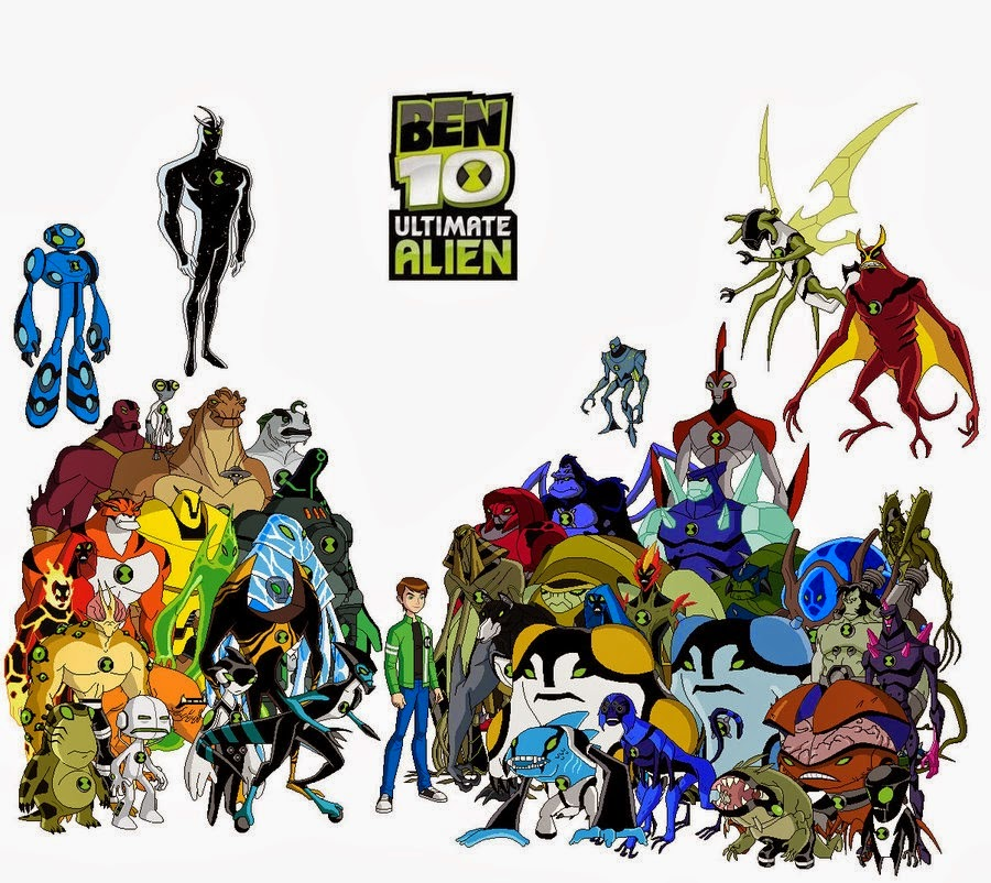 play all new games of ben 10